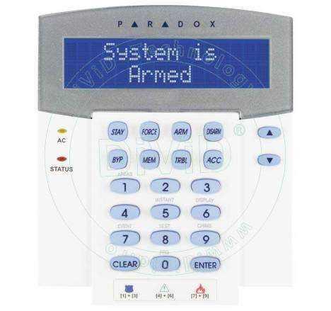 Tastatura alarma LCD K641