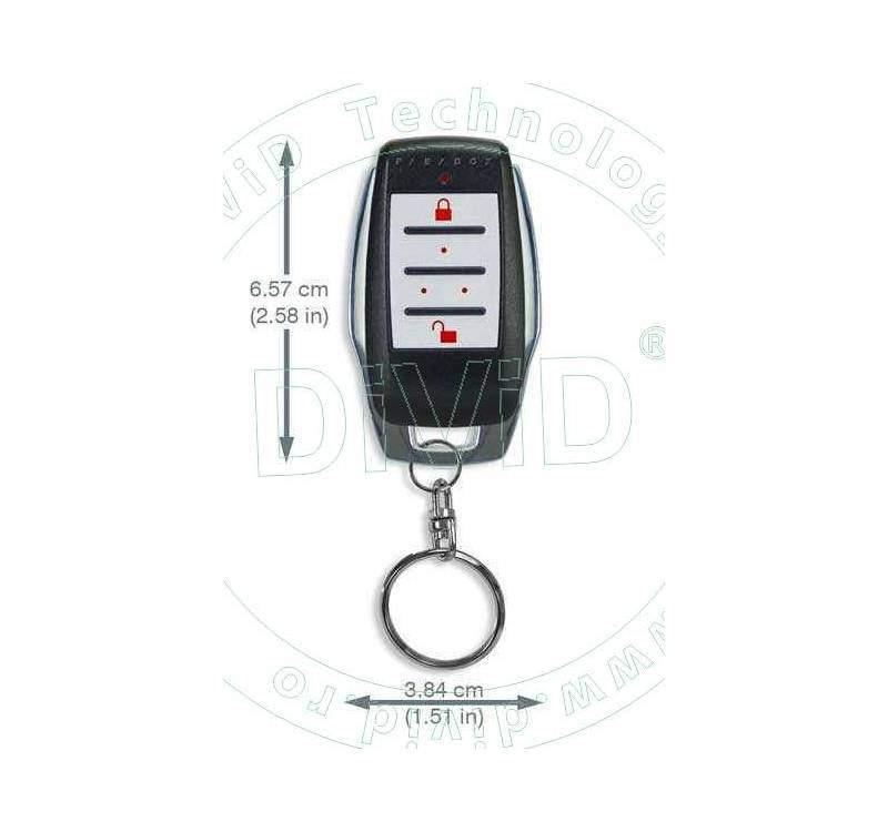 Telecomanda REM15 pentru sisteme alarma fara fir