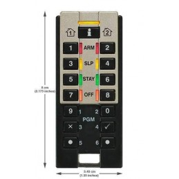 Telecomanda REM3 pentru sisteme de alarma Paradox