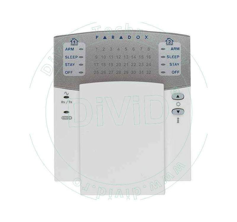 Tastatura radio LED K32W alarma fara fir