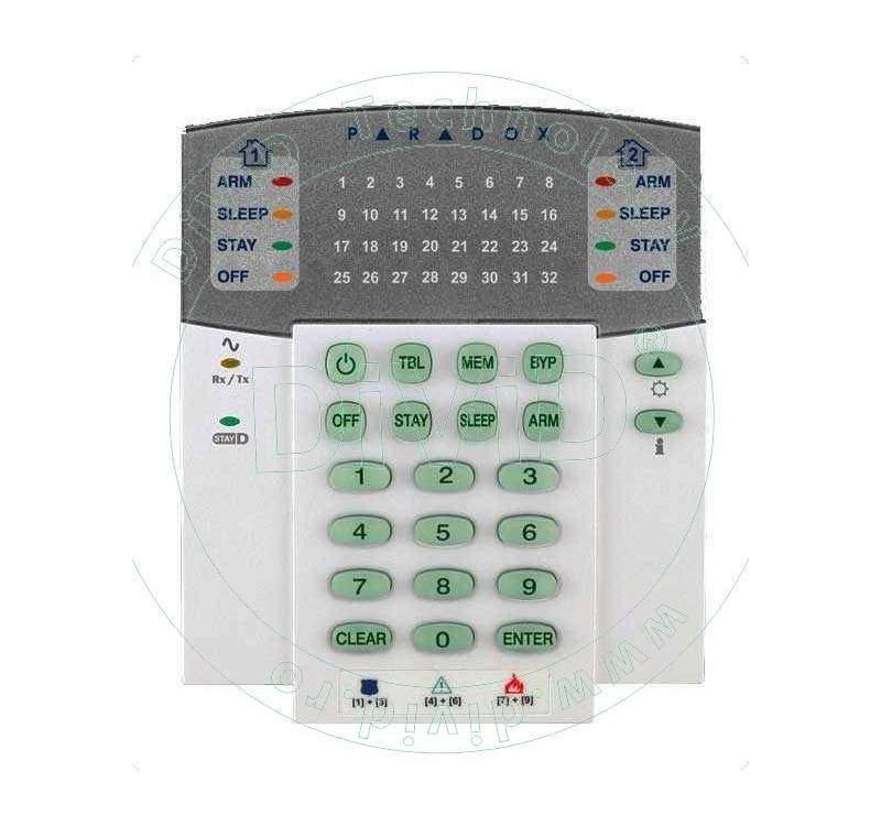 Tastatură LED K32RF pentru alarme fara fir
